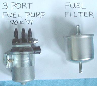 Fuel Pump Problem - 3 port '70 P1800E